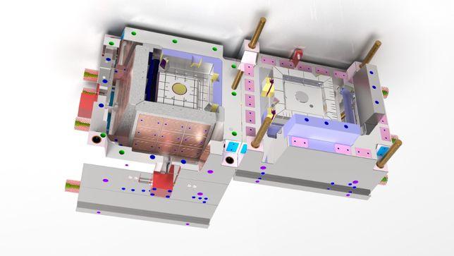 Projetos 3d - Moldes - eléctrodos-Desenvolvimento Produto