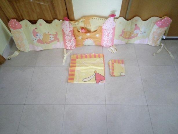 Protecção de grades de cama