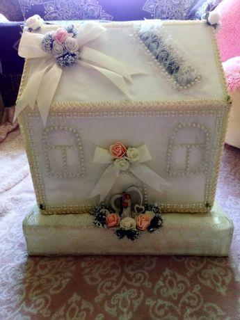 Свадебный домик для денег