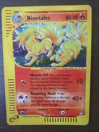 Ninetales H19/H32 - Holo EXC Aquapolis Pokemon