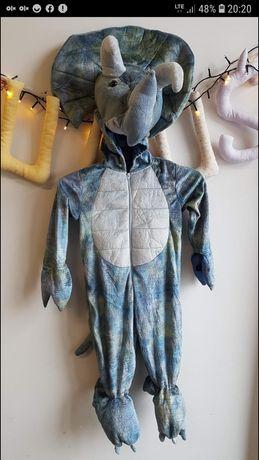 Strój karnawałowy Dinozaur r. 92-98