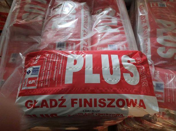 Gładź finiszowa PLUS GIPSAR ATLAS 20kg