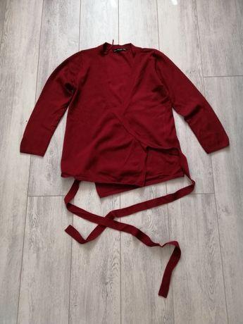 "Кофта с завязками :,, ZARA knit ""(оригинал)"
