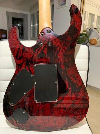 Guitarra Eléctrica X-Custom Cort Mysthic Red