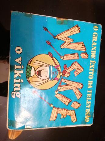 Caderneta de cromos wickie o viking