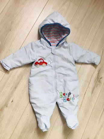 детское: бодики, штанишки, шапочки на 0-6 месяцев