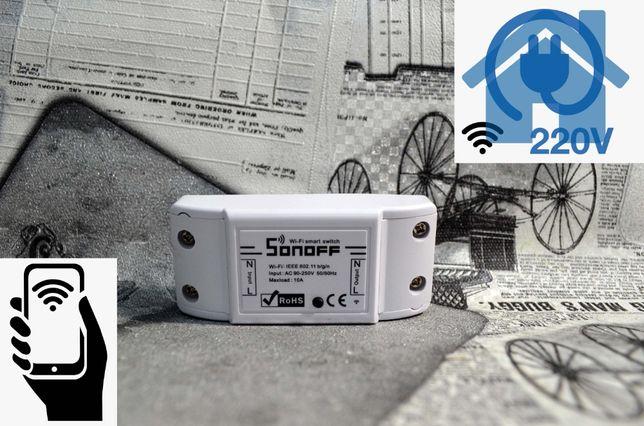 Sonoff Basic WiFi, Реле Умный дом. Гарантия 3 месяца!