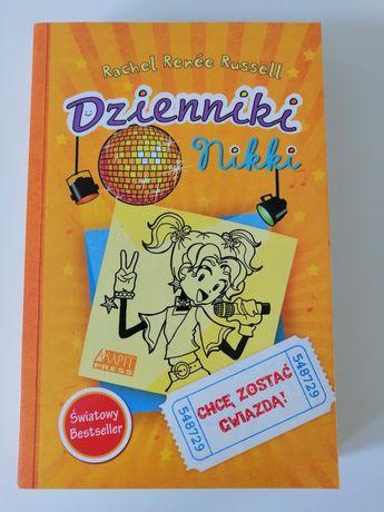 Książka Dzienniki Nikki Chcę zostać gwiazdą!