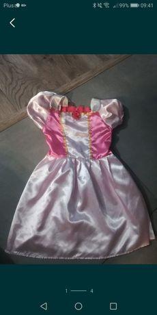 Sukienka księżniczki dla dziewczynki na bal przebierańców