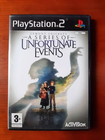Jogo Unfortunate Events playstation 2