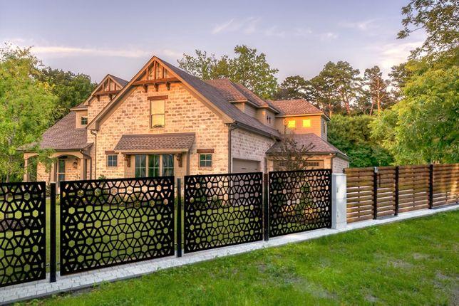 panel ogrodzeniowy cnc wycięty z blachy ogrodzenie nowoczesne