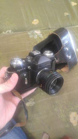 Фотоаппарат Zenit-e и Киев