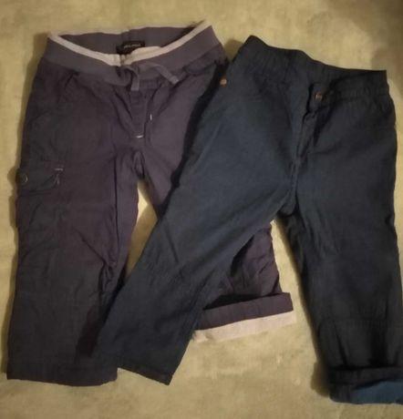 Spodnie chłopięce, ocieplane, roz 86