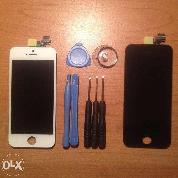 Ecrã / Visor / Display Touch iPhone 4S/5/5S/5C/6/6S/7/8/X/XS/11 Plus