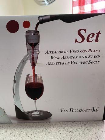 Vin Boquet Aeartor Set napowietrzacz do wina