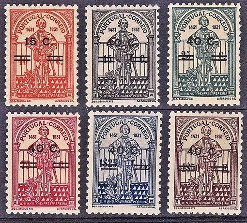 Séries completas - Portugal 1933/1958 - Novos, c/ goma, s/ charneira