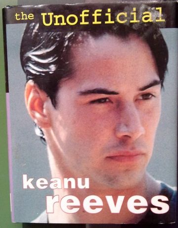 Livro - The Unofficial Keanu Reeves - NOVO