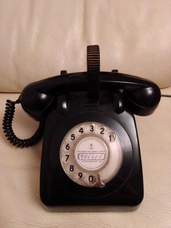 Telefone Antigo dos TLP de Outubro de 1981
