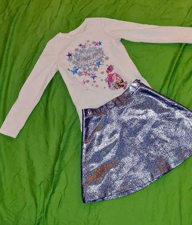Стильный костюм для девочки Acoola kids на рост 128-134 с