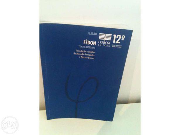 Livro de Resumo de Fédon Platão 12º Ano