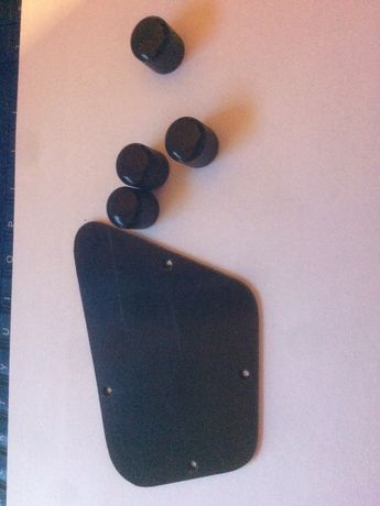 Epiphone T-Bird Pro 5 Thunderbird klapka elektroniki potki pokrętła