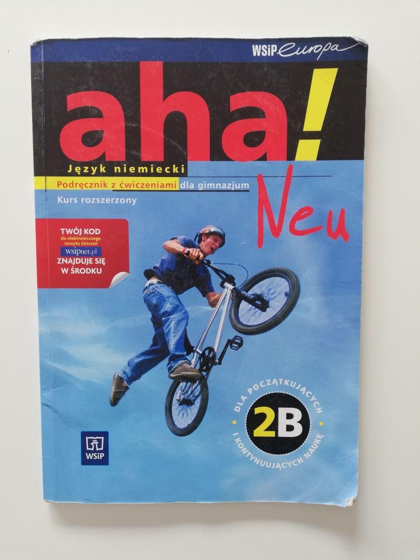 Podręcznik do nauki języka niemieckiego Aha Neu 2B