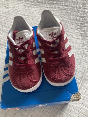 Adidas Gazelle r. 21 dzieciece
