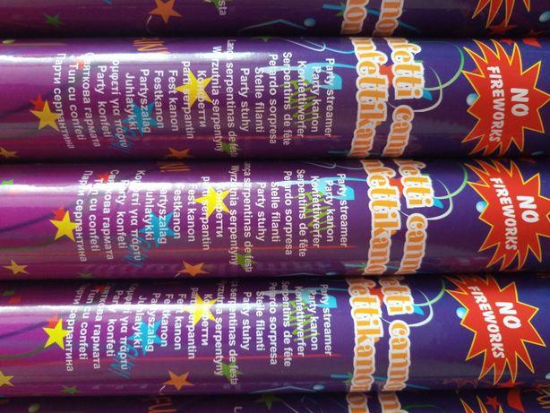 Confetti duże tuby - 38 cm