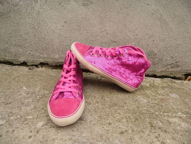 Кеды Next 36, 23 см детские, подростковые, обувь, кроссовки, розовые
