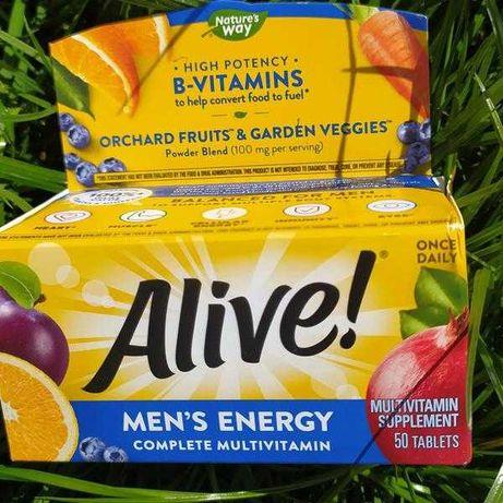 Alive Комплекс витамины для мужчин и мультиминералы, мультивитамины