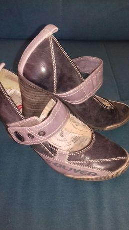 S.Oliver 36 buty na obcasie prawie nowe