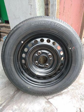 Оригинал запаска, колесо в сборе r 15 Mitsubishi