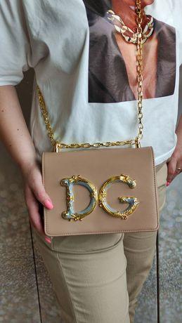 Женский клатч-сумка через плечо Dolce & Gabbana Girls