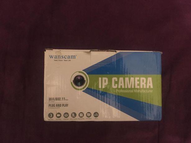 Kamera ip wanscam ogródek działkowy