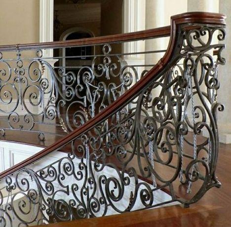 Кованые перила. Балконые перила