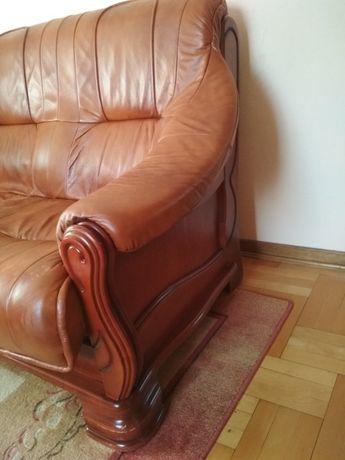 Skórzana sofa kanapa