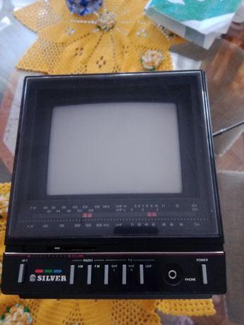 televisor portátil com rádio