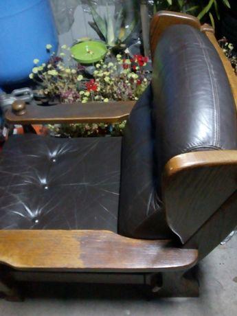 fotele skórzane holenderskie