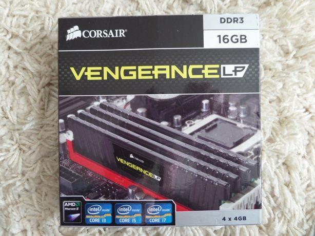 Оперативная память Corsair Vengeance LP 16Gb DDR3-1600Мгц (4X4GB)