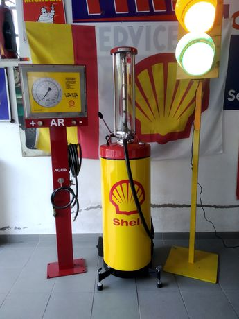Bomba de gasolina Shell