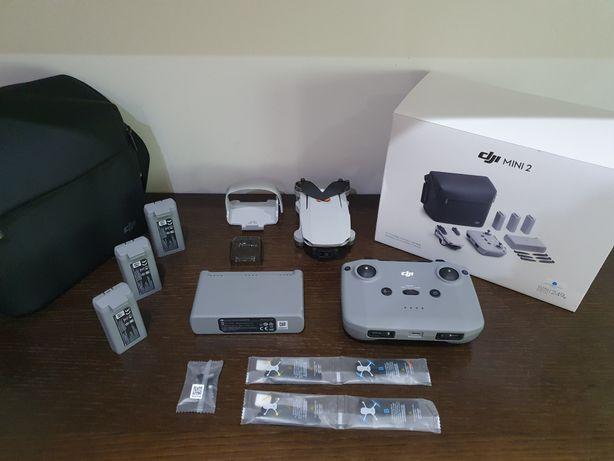 C/NOVO Drone Dji mini 2 + Fly More + Dji Care Refresh + Garantia