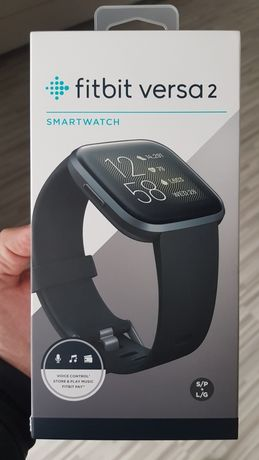 Smartwatch Fitbit versa 2 Black carbon