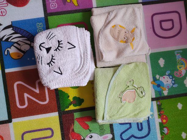 Ręczniki niemowlęce