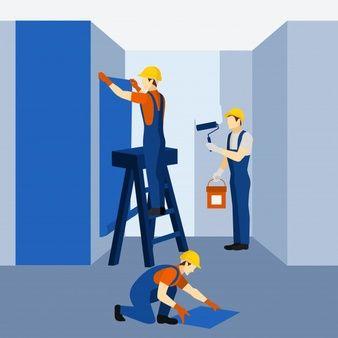 Prace remontowe Gładzie/malowanie/panele