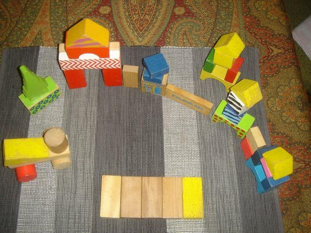 деревянный конструктор для самых маленьких
