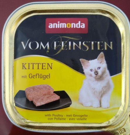 Animonda Vom Feinsten  Kitten mit Geflugel ( z drobiem) 100g tacka
