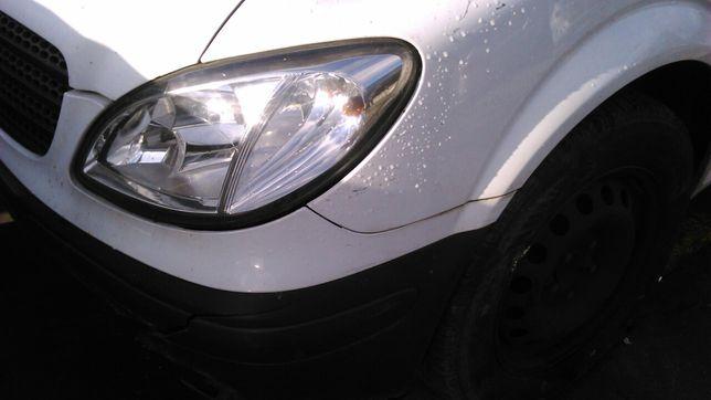 Mercedes vito W639 115 cdi Motor 646.982 Caixa De 6 Velocidades