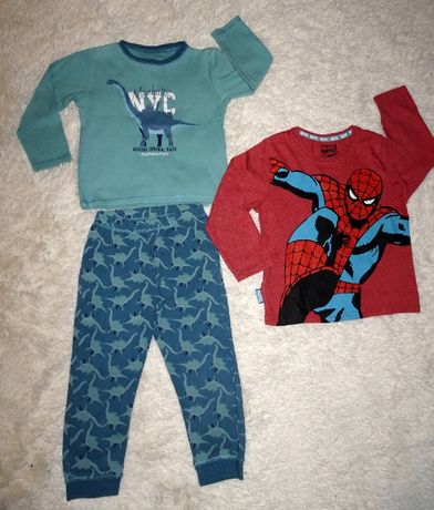 Piżamka i bluzka ze Spiderman - em 3-4 lata