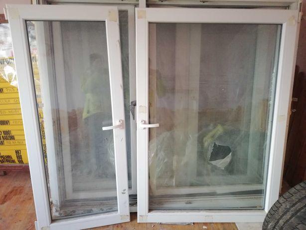 Okna plastikowe różne wymiary, używane.