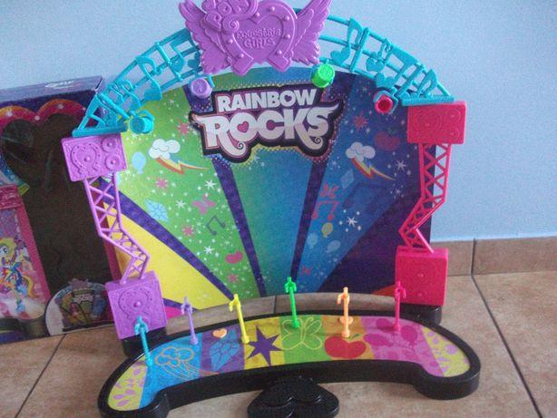 scena dla lalek Equestria Girls rainbow rocks